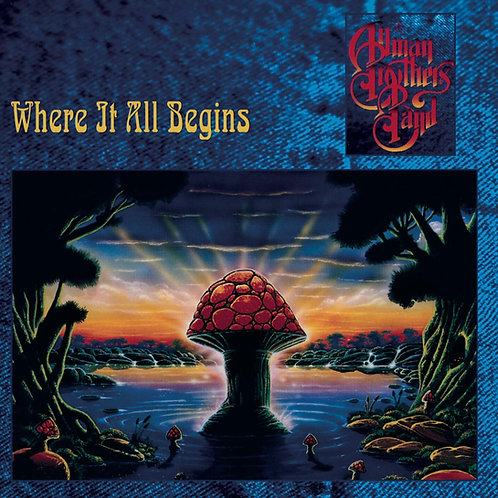 THE ALLMAN BROTHERS - WHERE IT ALL BEGINS CD