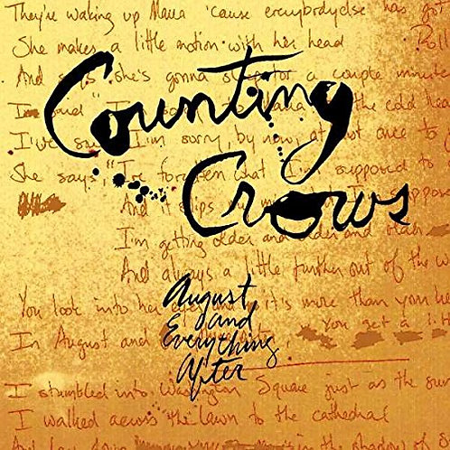 COUNTRY CROWS - AUGUST AND EVERYTHING WATER CD