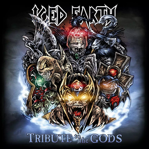 ICED EARTH - TRIBUTE TO THE GODS CD