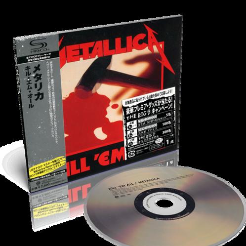 METALLICA - KILL´EM ALL DIGIPACK CD