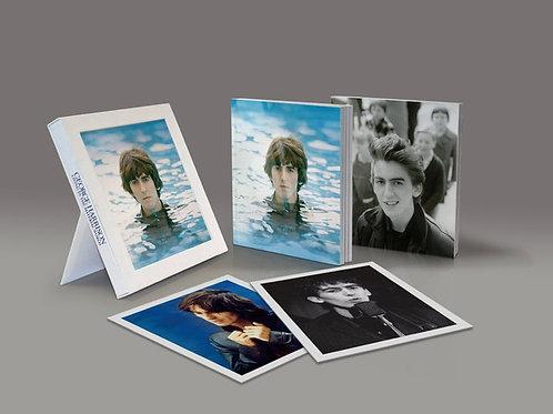 GEORGE HARRISON - LIVING MATERIAL WORLD DUPLO DVD+CD E BLURAY BOX SET