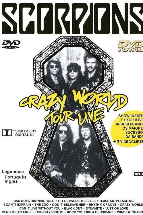 SCORPIONS - CRAZY WORLD TOUR LIVE DVD