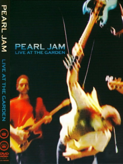 PEARL JAM - LIVE AT THE GARDEN DVD