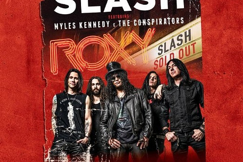 SLASH - LIVE AT THE ROXY CD