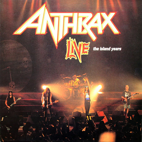 ANTHRAX - LIVE THE ISLAND YEARS CD