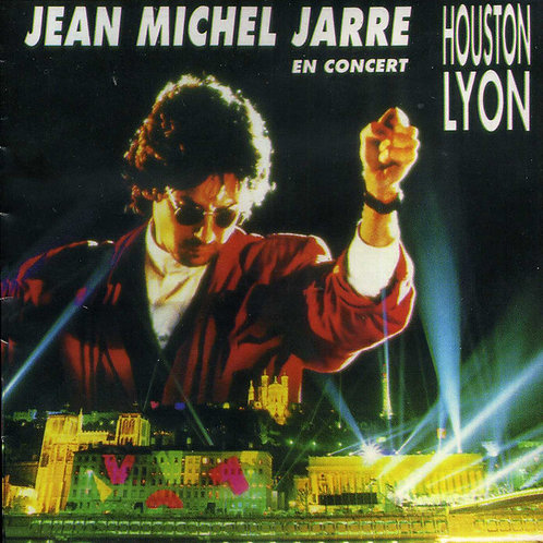 JEAN MICHEL - CITIES  IN CONCERT HOUSTON LYON  LP