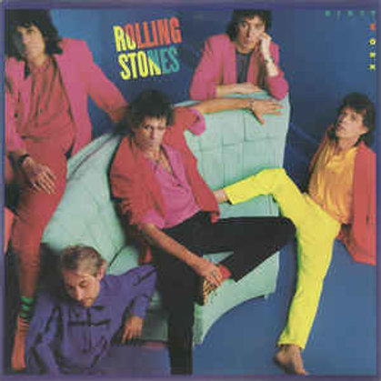 THE ROLLING STONES - DIRTY WORK LP
