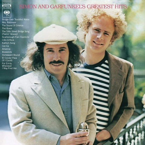 SIMON AND GARFUNKEL - GREATEST HITS LP