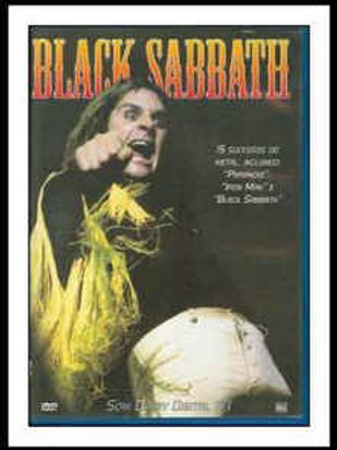 BLACK SABBATH - 15 SUCESSOS DO METAL DVD