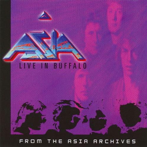 ASIA - LIVE IN BUFFALO 2003 CD