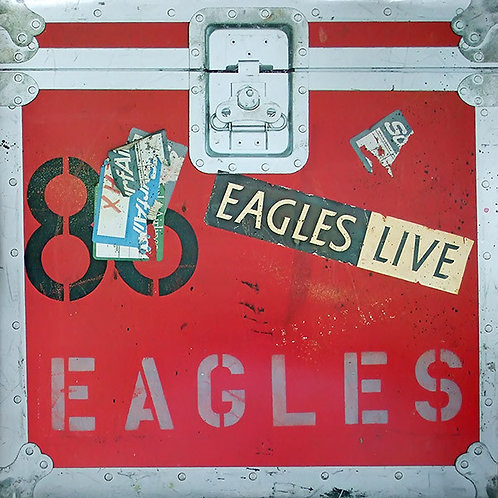 EAGLES - LIVE EAGLES DUPLO LP