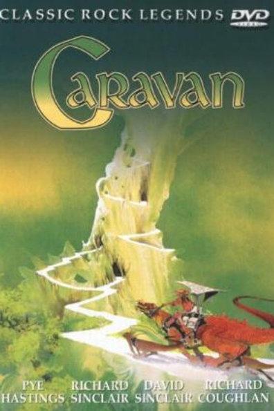 CARAVAN - CLASSIC ROCK LEGENDS DVD