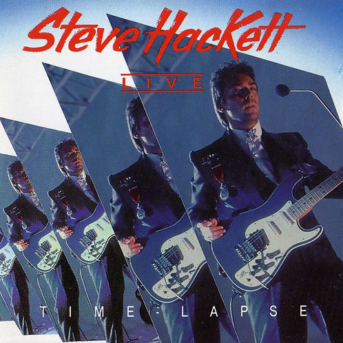 STEVE HACKETT - TIME LAPSE CD