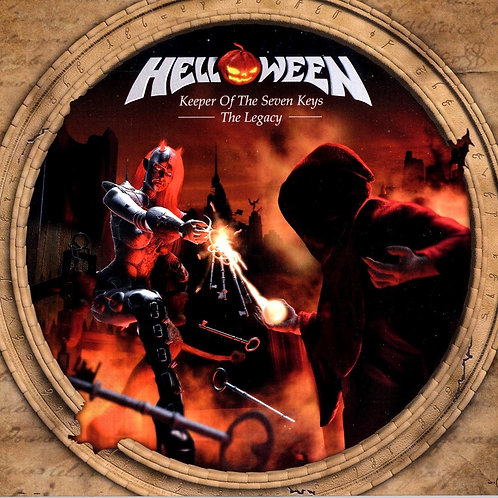 HELLOWEEN - KEPPER OF THE SEVEN KEYS THE LEGACY CD