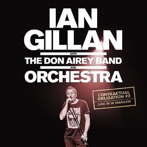 IAN GILLAN - THE DON AIREY BAND ORCHESTRA DUPLO CD DIGIPACK