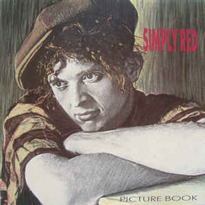 SIMPLY RED - PICTURE BOOK LP