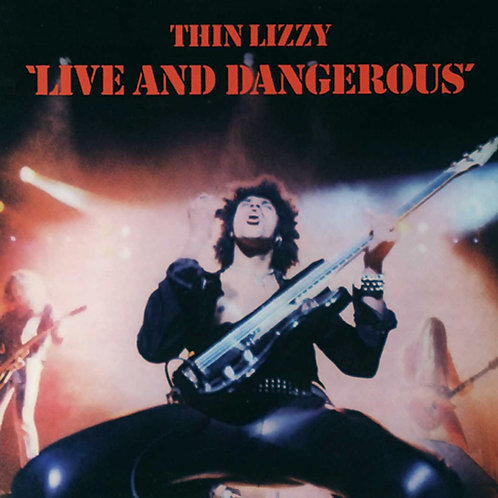 THIN LIZZY - LIVE AND DANGEROUS CD