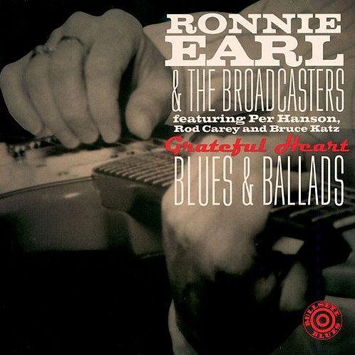 RONNIE EARL - GRATEFUL HEART BLUES & BALLADS CD