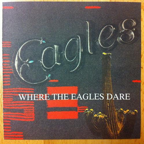 EAGLES - WHERE THE EAGLES DARE CD BOX