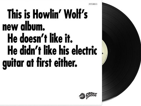 THIS IS HOWLIN´ WOLF´S NEW ALBUM LP