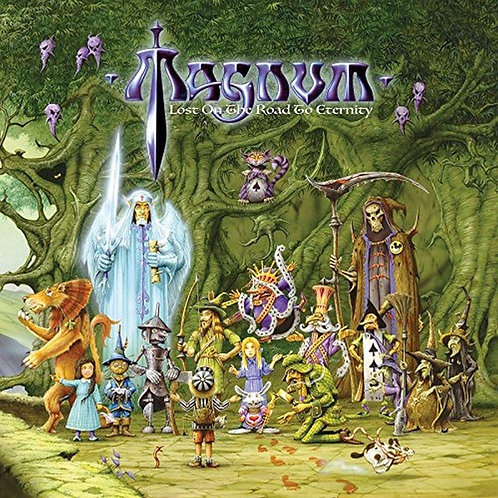 MAGNUM - LOST ON THE ROAD TO ETERNITY CD