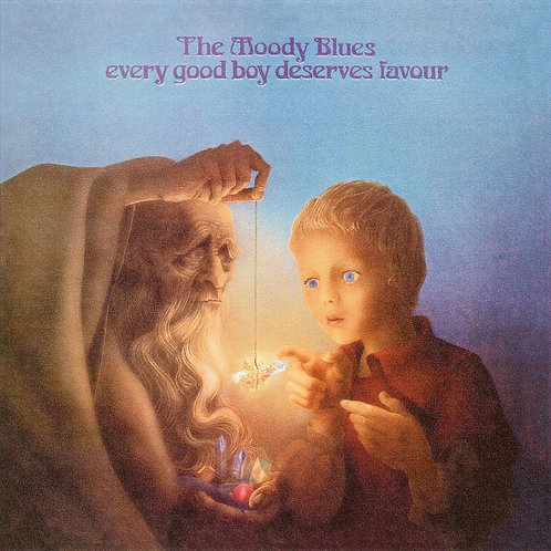THE MOODY BLUES - EVERY GOOD DESERVES LAVOUR LP