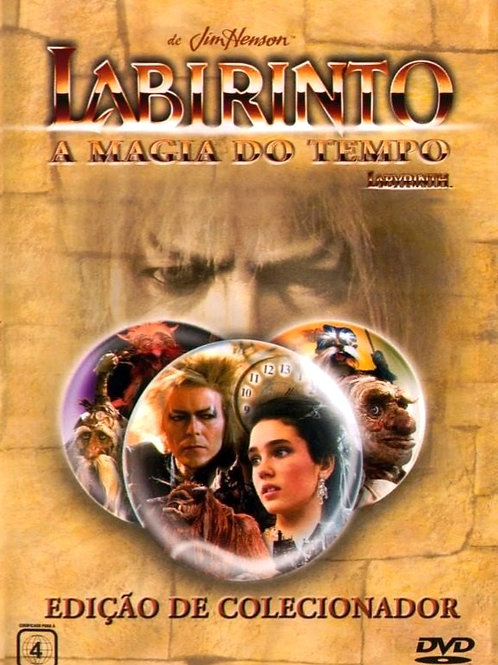 LABIRINTO - A MAGIA DO TEMPO DVD