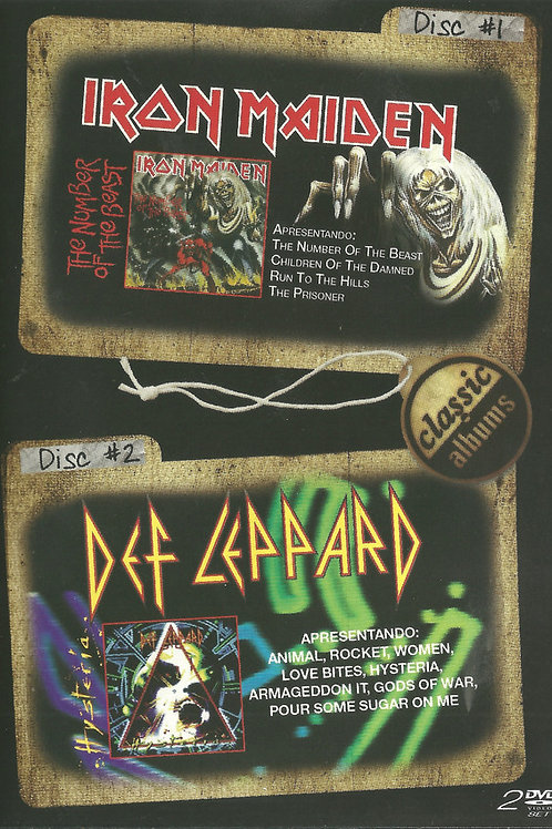 DISC 2 CLASSIC ALBUMS - IRON MAIDEN/ DEF LEPPARD DVD