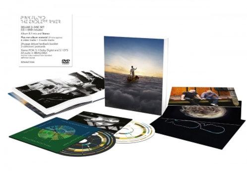 PINK FLOYD - THE ENDLESS RIVER CD+BLU RAY BOX