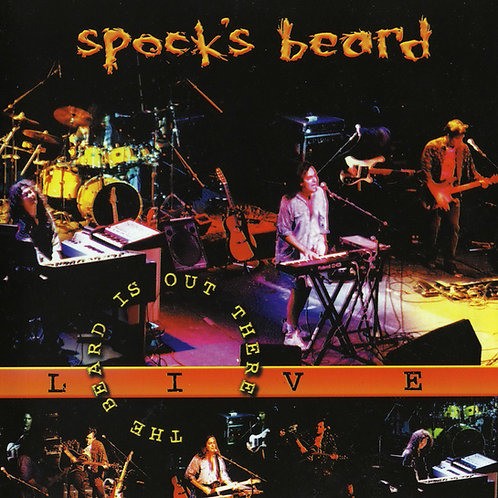 SPOCK´S BEARD - THE BEARD IS OUT THERE CD