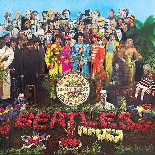 THE BEATLES - SGT PEPPERS CLUB BAND LP