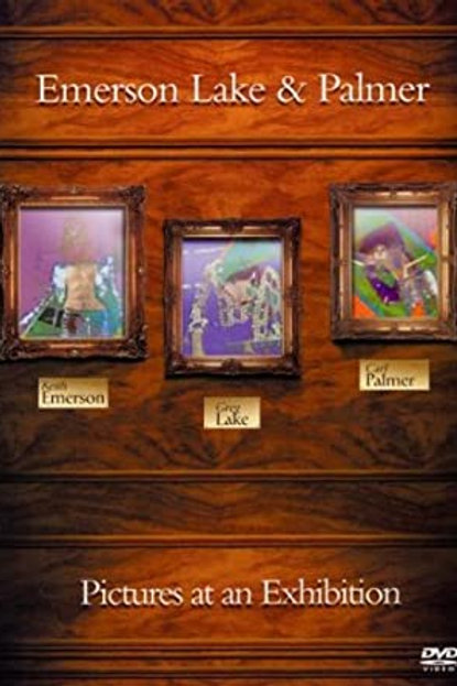 EMERSON LAKE & PALMER - PICTURES AT AN EXHIBITION DVD