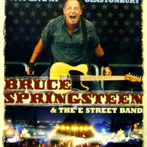 BRUCE SPRINGSTEEN - LIVE AT GLASTONBURY 2009 BLU-RAY