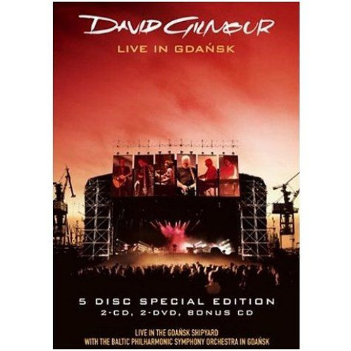 DAVID GILMOUR - LIVE IN GDANSK SPECIAL EDITION BOX SET