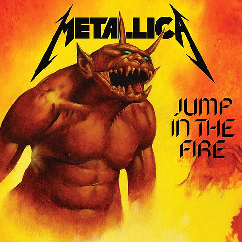 METALLICA - JUMP IN THE FIRE CD
