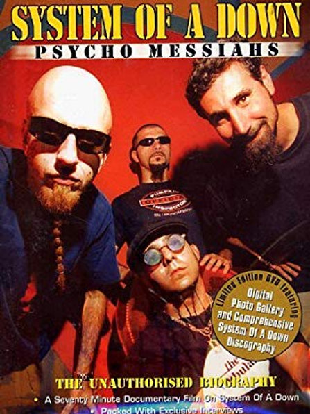 SYSTEM OF A DOWN - PSYCHO MESSIAHS DVD