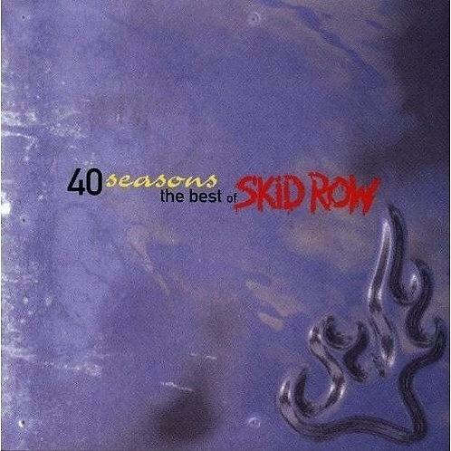 SKID ROW - 40 SEASONS THE BEST OF CD