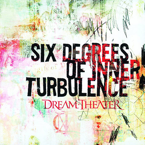 DREAM THEATER - SIX DEGREES OF INNER TURBULENCE DUPLO CD