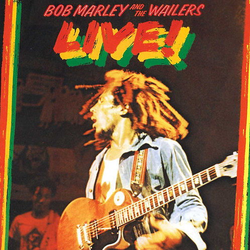 BOB MARLEY AND THE WAILERS LIVE! LP