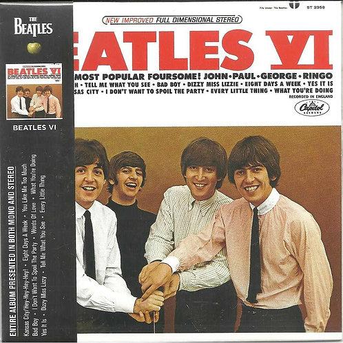 THE BEATLES VI DIGIPACK CD