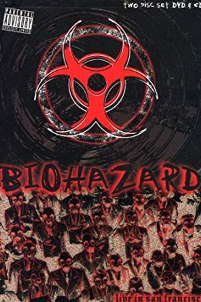 BIOHAZARD - LIVE IN SAN FRANCISCO DVD