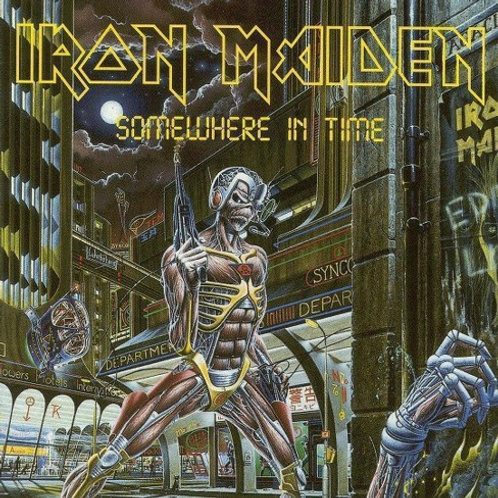 IRON MAIDEN - SOMEWHERE IN TIME DUPLO CD