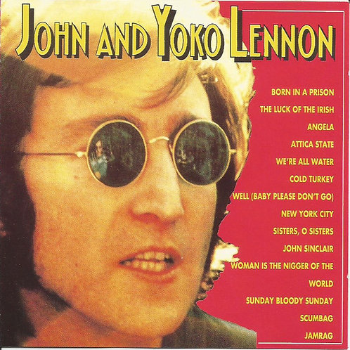 JOHN AND YOKO LENNON CD