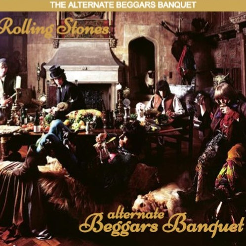 THE ROLLING STONES - ALTERNATE BEGGARS BANQUET DUPLO LP