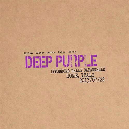 DEEP PURPLE - LIVE IN ROME, ITALY 2013 DUPLO CD DIGIPACK