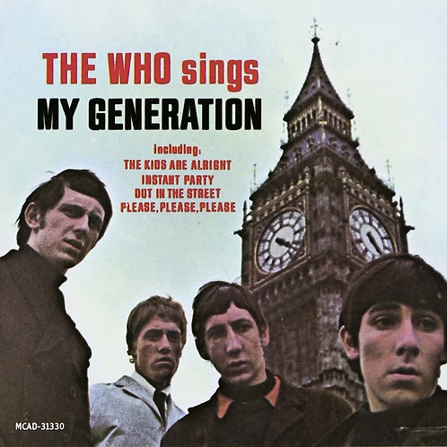 THE WHO - SINGS MY GENERATION LP