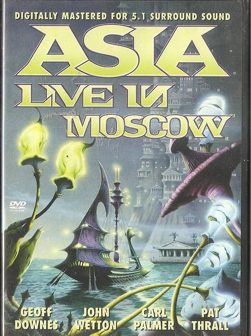 ASIA - LIVE IN MOSCOW DVD