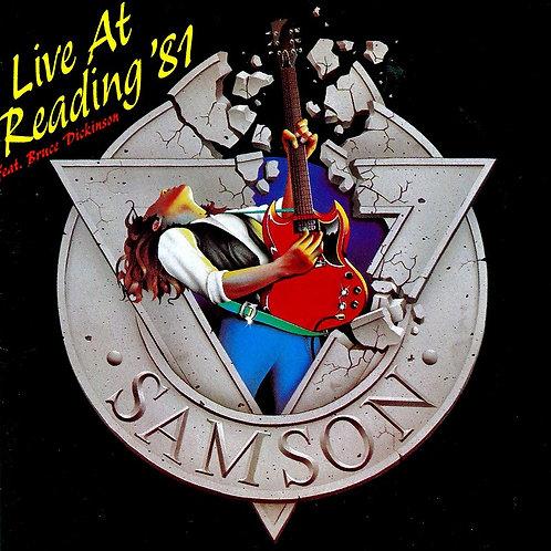 SAMSON - LIVE AT READING´87 CD