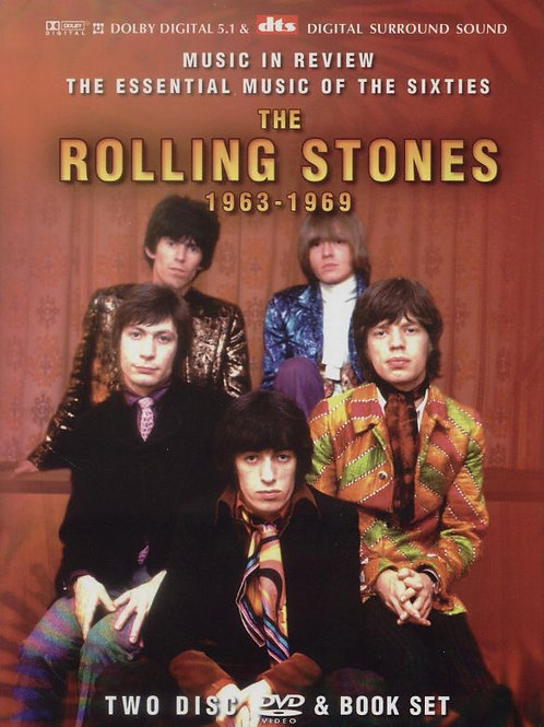 THE ROLLING STONES - A INDEPENDENT CRITICAL REVIEW DUPLO DVD BOX SET