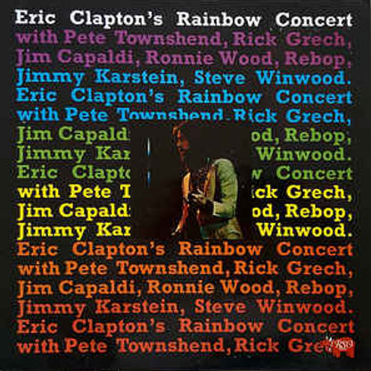 ERCI CLAPTON - RAINBOW CONCERT LP